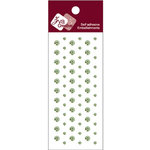 Zva Creative - Self-Adhesive Crystals - Dots - Lime