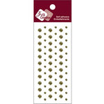 Zva Creative - Self-Adhesive Crystals - Dots - Olive