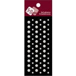 Zva Creative - Self-Adhesive Pearls - Dots - White