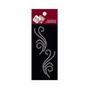 Zva Creative - Self-Adhesive Pearls - Small Symmetrical Flourishes 5 - White