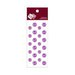 Zva Creative - Self-Adhesive Crystals - Mini Flowers - Lavender