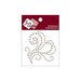 Zva Creative - Self-Adhesive Pearls - Flourish 15 - Taupe