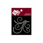 Zva Creative - Self-Adhesive Pearls - Flourish 17 - White