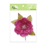Zva Creative - Flower Embellishments - Bermuda Blooms - Hot Pink