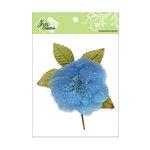 Zva Creative - Flower Embellishments - Bermuda Blooms - Azure