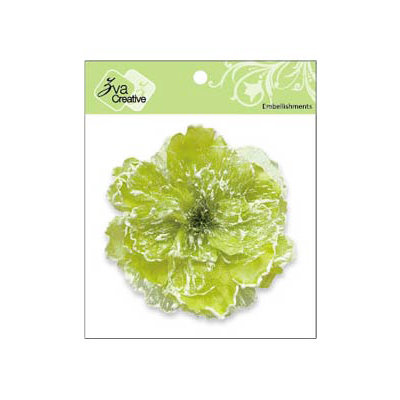Zva Creative - Flower Embellishments - Key West Keepsakes - Kiwi