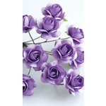 Zva Creative - 5/8 Inch Paper Roses - Bulk - Lavender, CLEARANCE
