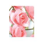 Zva Creative - 1.25 Inch Paper Roses - Bulk - Pink, CLEARANCE