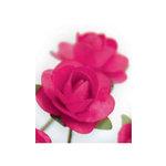 Zva Creative - 1.25 Inch Paper Roses - Bulk - Rosy