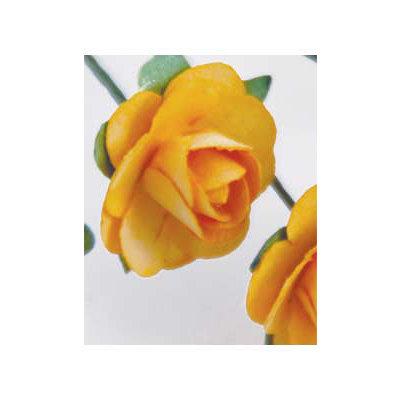 Zva Creative - 1.25 Inch Paper Roses - Bulk - Peach, CLEARANCE