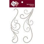 Zva Creative - Self-Adhesive Pearls - Serenity Swirls - Taupe, CLEARANCE