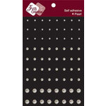 Zva Creative - Self-Adhesive Pearls - Pearl Dots, CLEARANCE