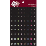 Zva Creative - Self-Adhesive Pearls - Multicolor Dots, CLEARANCE