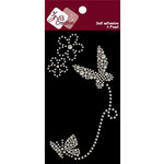 Zva Creative - Self-Adhesive Pearls - Fairy Flutter - White