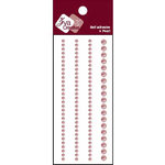 Zva Creative - Self-Adhesive Pearls - Basic Lines - Soft Pink, CLEARANCE