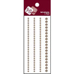 Zva Creative - Self-Adhesive Pearls - Basic Lines - Taupe, CLEARANCE