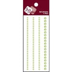 Zva Creative - Self-Adhesive Pearls - Basic Lines - Lime, CLEARANCE