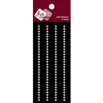 Zva Creative - Self-Adhesive Pearls - Small - Lines - White