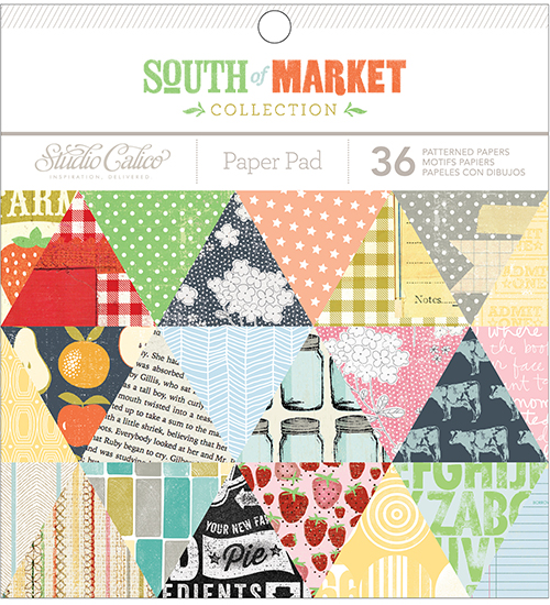 American Crafts Studio Calico South of Market 6 x 6 Paper Pad