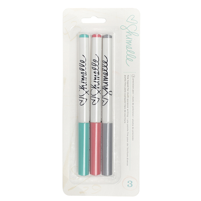american crafts   shimelle collection   slick writers   3 pack