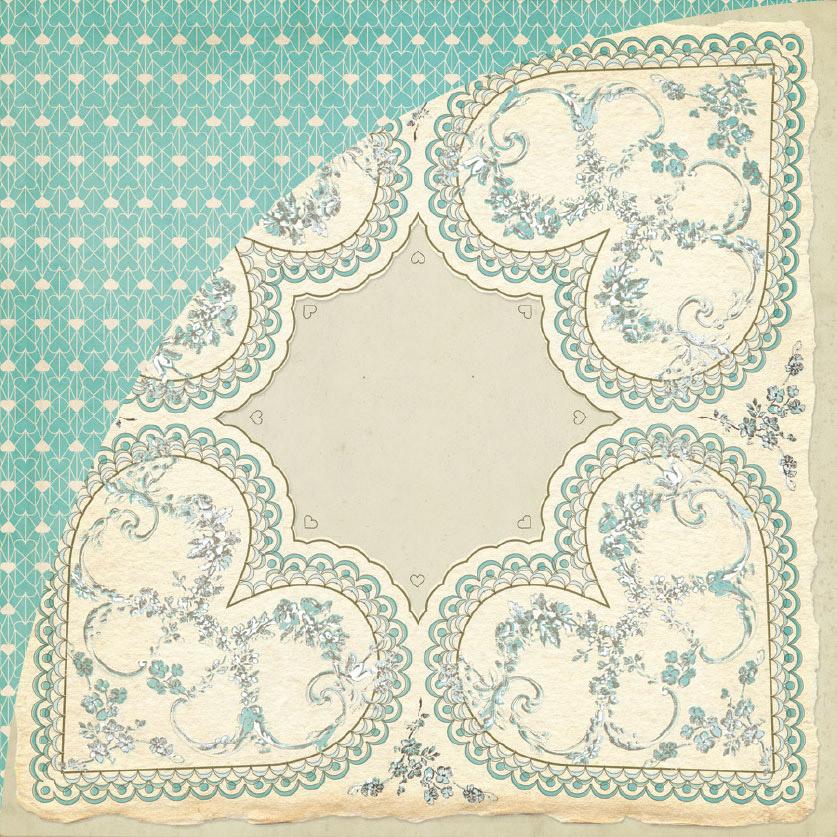 Paper Pack - True Love's Kiss Glitter Papers l Dream Big Designs