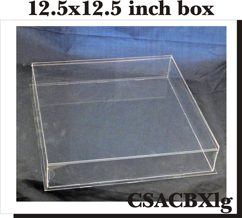 Acrylic Trinket Boxes : Clear scraps diy acrylic box keepsake large