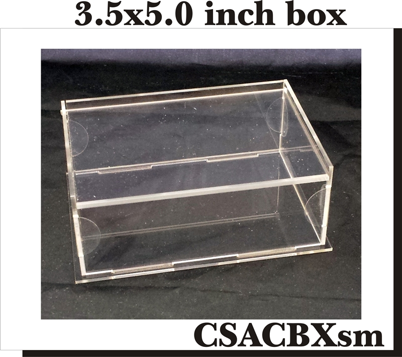 Acrylic Trinket Boxes : Clear scraps diy acrylic box keepsake small