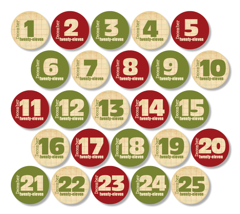 christmas numbers clipart free - photo #12