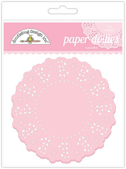 Cupcake Paper Design : Doodlebug Designs - Paper Doilies - Cupcake