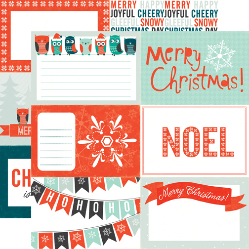 Dear Santa Collection - Christmas - 12 x 12 Double Sided Paper - Noel ...