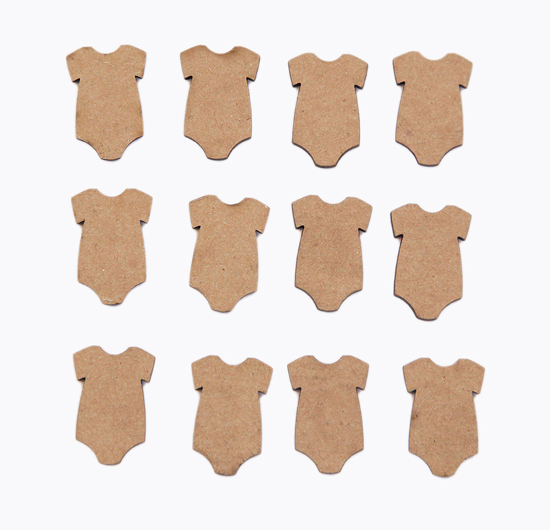 Chipboard Shapes Ideas ~ Grapevine designs and studio onesie itty bitty pieces