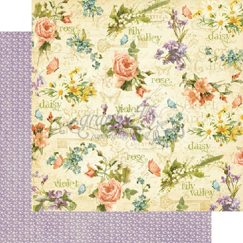Graphic 45 Secret Garden Collection 12 X 12 Double
