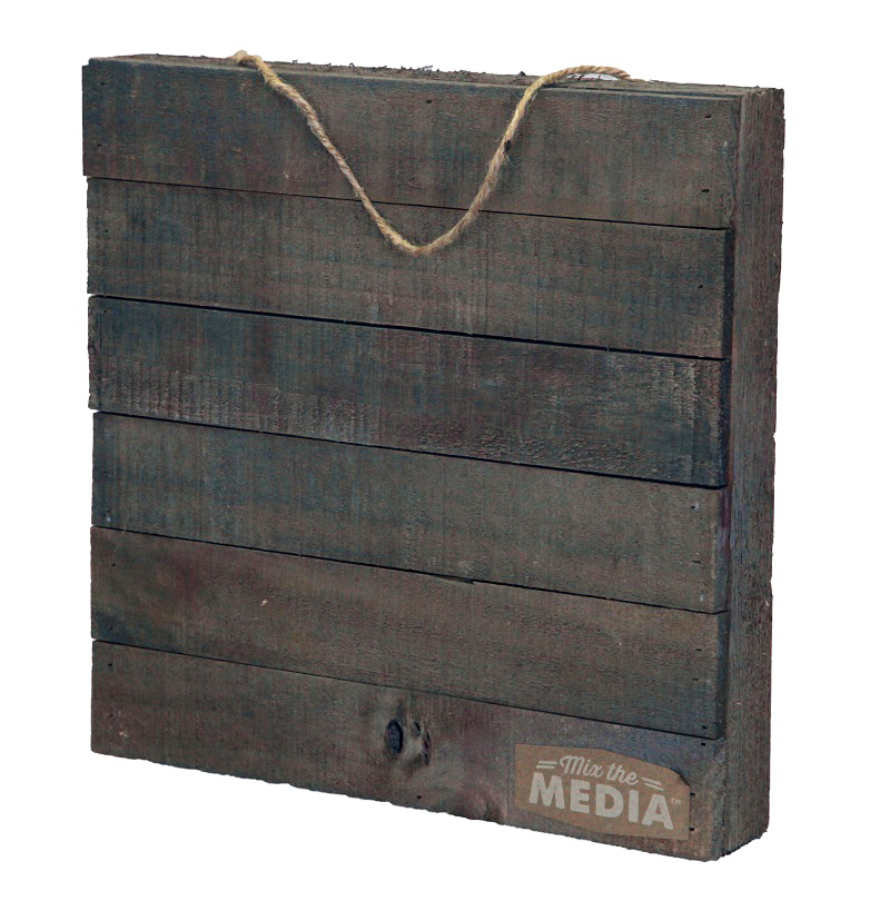 Jillibean Soup Mix The Media Collection 12 X 12 Wood Plank