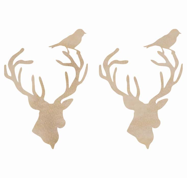 deer head cut out Quotes