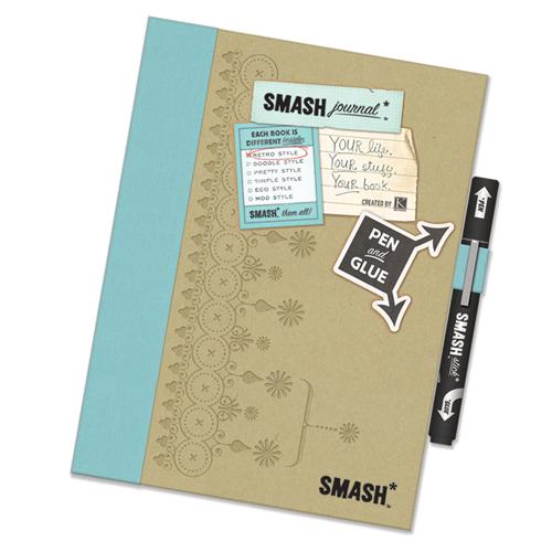 Smash Folio Journal 69-Piece Gift Set, Cutesy - Walmart.com |Smash Folio Journal Kit