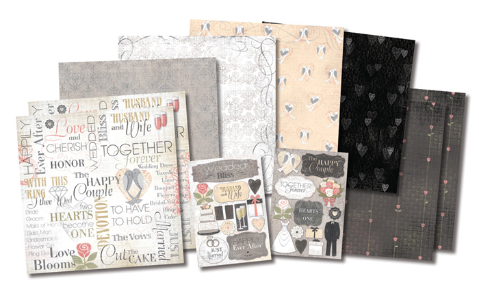 Wedding Scrapbook Kit Wedding Complete Scrapbook