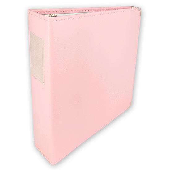 KMA Pale Pink 12 X 12 Album Umbrella Crafts Binder