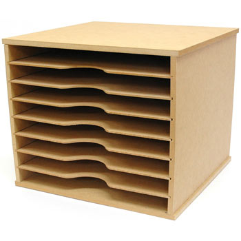 kaisercraft beyond the page collection scrapbooking paper storage unit. Black Bedroom Furniture Sets. Home Design Ideas