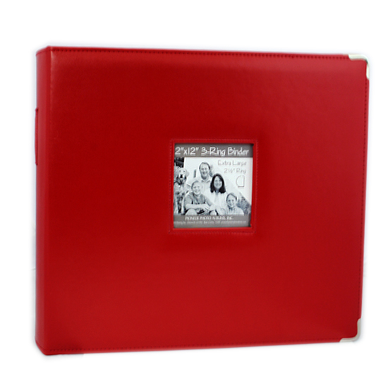 12 X 12 Sewn Frame Scrapbook