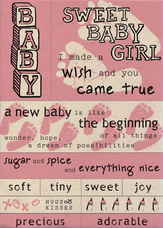 baby quotes for scrapbooking - photo #28