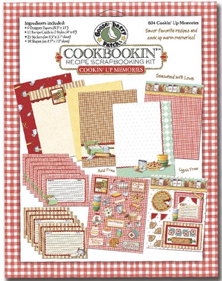 Recipe Scrapbooking Kit
