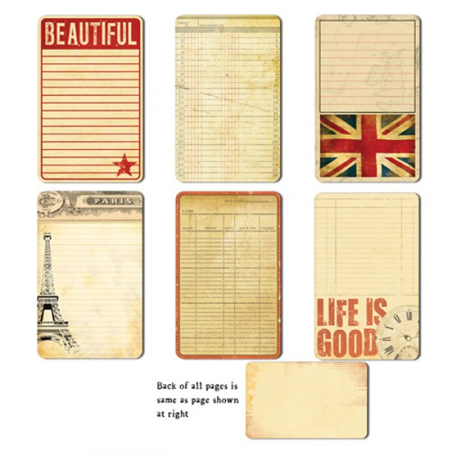 7 gypsies lille collection journal pages life is good - Boutique scrapbooking paris ...