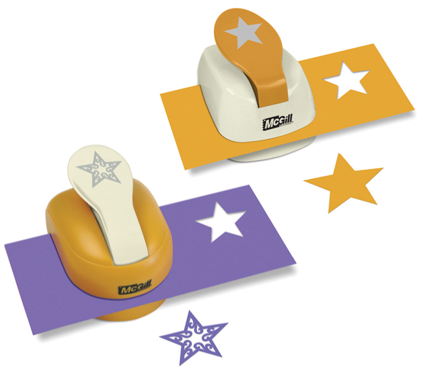 star paper punch Hole punches ideal for scrapbooking-punch any kind of paper and thin layers of plastic, foamies, felt, leather, and metal package contains three hole punches.