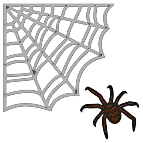 ... - Halloween - Die Cutting and Embossing Templates - Spider Web