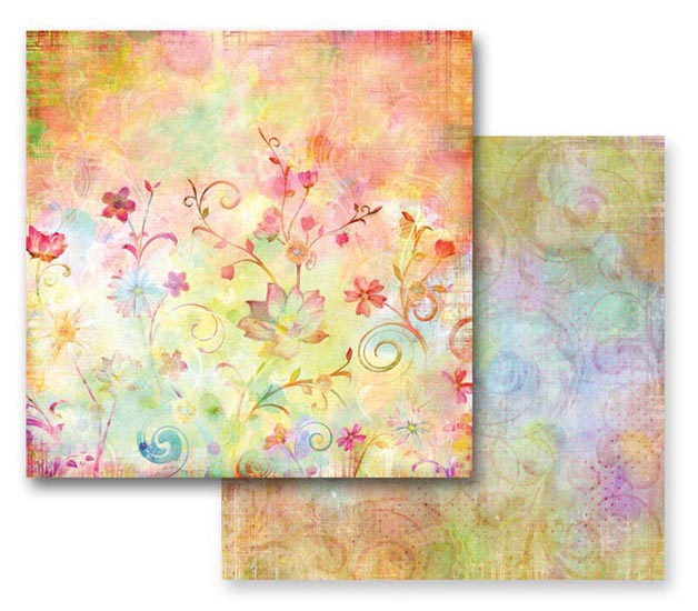 Prima Fairy Flora Collection 12 X 12 Double Sided