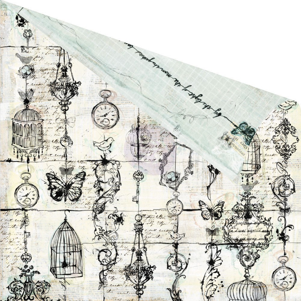 Prima - Epiphany Collection - 12 x 12 Double Sided Paper - At This ...