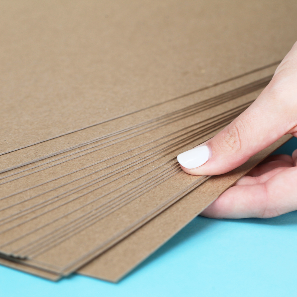 Umbrella crafts inch thin chipboard pack sheets