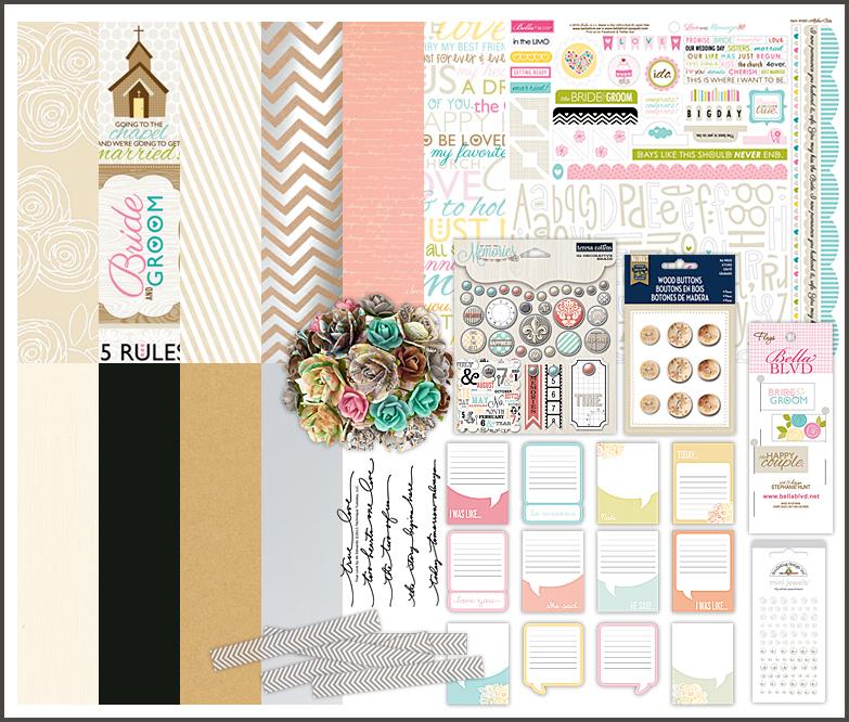 Wedding Scrapbook Kit Scrapbook.com Kit Club