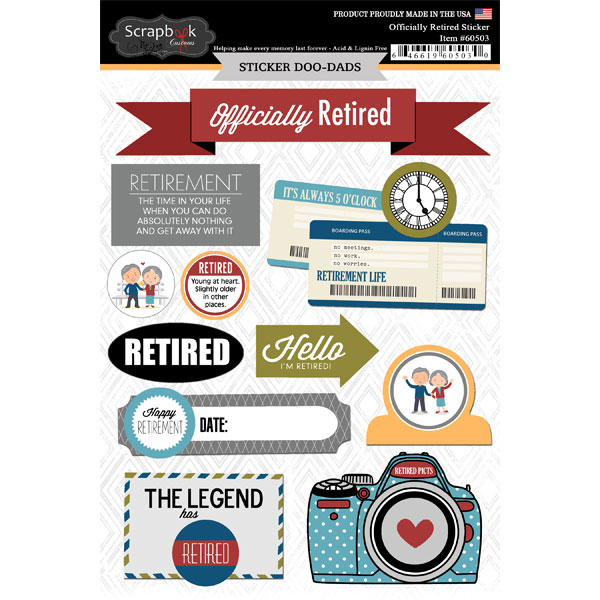 Happy Retirement Digital Scrapbook | Joy Studio Design ...