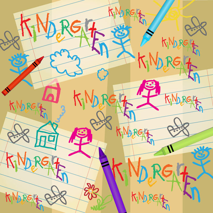 SugarTree - 12 x 12 Paper - Kindergarten